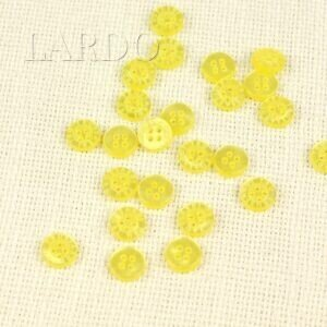 Пуговица TRUSSARDI TRU пластик ∅ 1,1 см, жёлтая