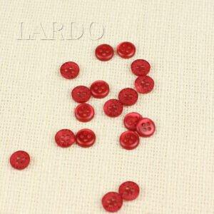 Пуговица TRUSSARDI BABY пластик ∅ 1,2 см, красный