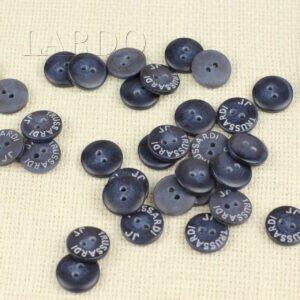 Пуговица TRUSSARDI JR пластик ∅ 1,5 см, тёмно-синяя