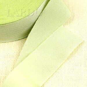 Репсовая лента оливковая шир. 3,8 см
