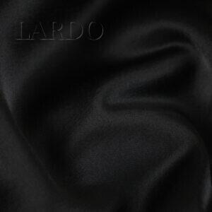 Атлас шерсть с вискозой чёрный