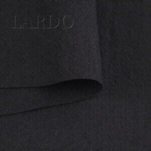 Шерсть костюмная чёрная тонкая