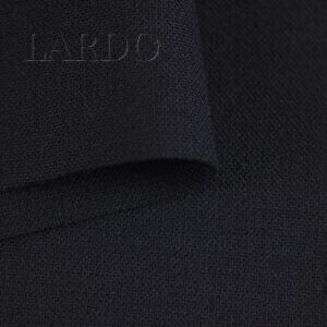 Шерсть стретч костюмная тёмно-синяя