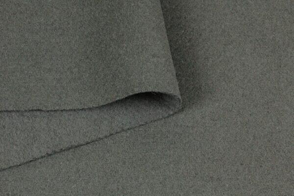 Шерсть пальтовая серо-оливковая