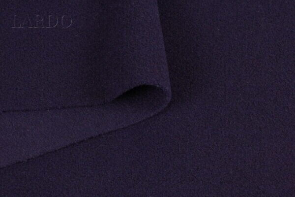 Шерсть пальтовая фиолетовая