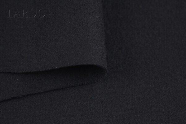 Шерсть пальтово-костюмная чёрная