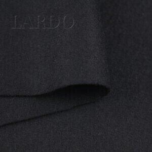 Пальтовая ткань шерсть чёрная