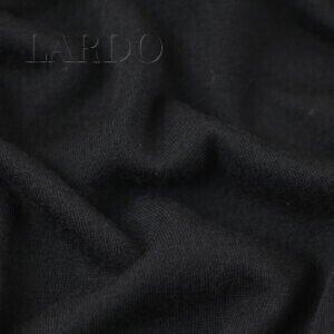 Трикотаж шерстяной чёрный