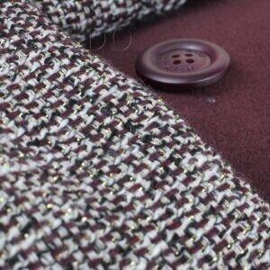 072 пальто - велюр пальтовый/платье - костюмно-плательная с люрексом