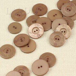 Пуговица AIGNER пластик грязно-розовая∅ 2,5 см
