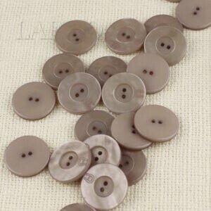 Пуговица AIGNER пластик ∅ 2,0 см, бежевая