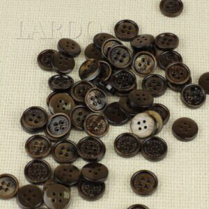 Пуговица MASSIMO REBECCHI пластик ∅ 1,5 см, коричневая
