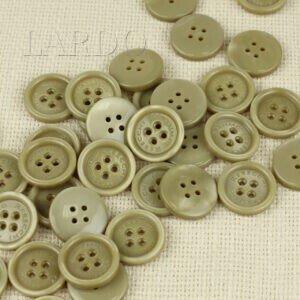 Пуговица MASSIMO REBECCHI пластик ∅ 2,2 см, бежевая