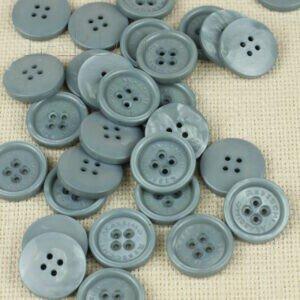 Пуговица MASSIMO REBECCHI пластик ∅ 1,5 см, сиреневая