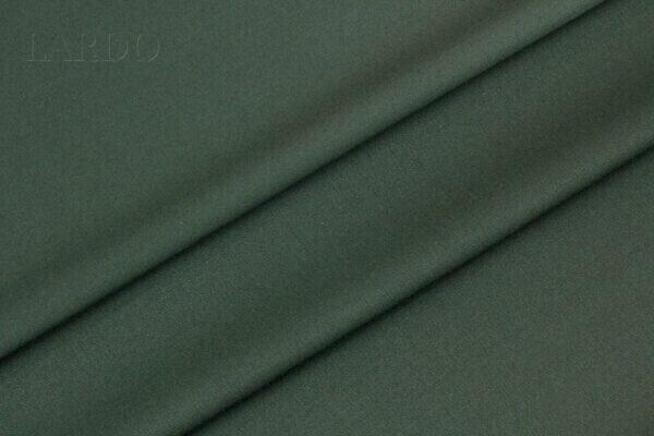 Костюмная шерсть стретч 2-х сторонняя Super 150 Leitmotiv тёмно-зелёная