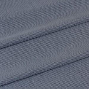 Костюмная стретч шёлк с шерстью серо-голубая