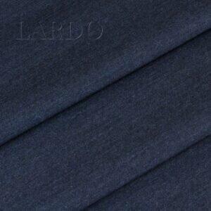 Костюмная шерсть с кашемиром тёмно-синий меланж