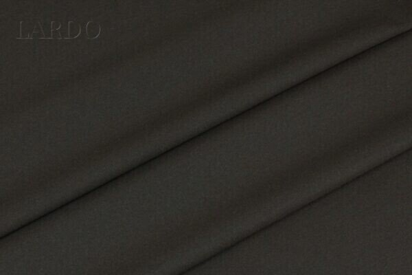 Костюмная шерсть тёмно-коричневая