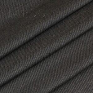 Костюмная шерсть коричневая в тонкую полоску