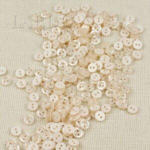 Пуговица пластик ∅ 0,8 см, марсала