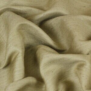 Лён с шёлком костюмно-плательный песочный меланж
