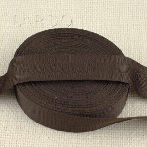 Киперная лента ширина 2,2 см коричневая