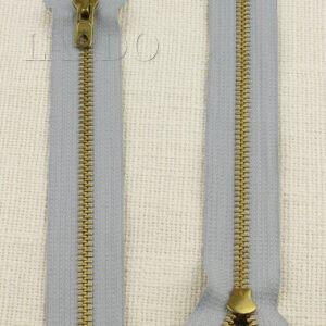 Молния LAMPO неразъёмная, однозамковая, 20 см, №5, голубая