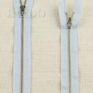 Молния LAMPO неразъёмная, однозамковая, 18 см, №4, голубая