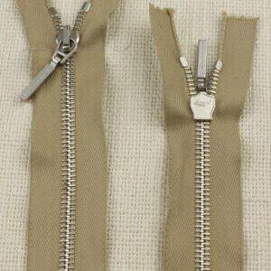 Молния LAMPO MARLYS неразъёмная, однозамковая, 15 см, №5, бежевая