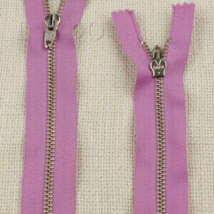 Молния LAMPO неразъёмная, однозамковая, 15 см, №4, розовая