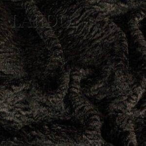 Эко мех каракуль вискоза коричневый