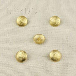 Пуговица металл ∅ 2,3 см, золотая с гербом