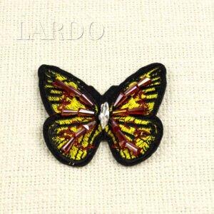 """Нашивка """"бабочка"""" авторская работа"""