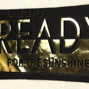 """Нашивка """"READY FOR THE SUNSHINE"""" авторская работа"""