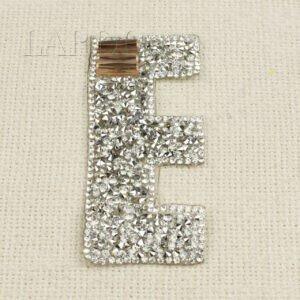 """Нашивка буква """"E"""" авторская работа"""