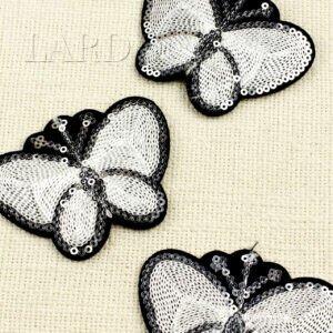 """Нашивка """"бабочка """" авторская работа"""