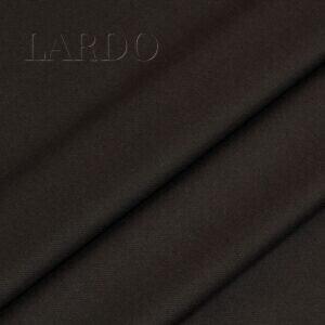 Костюмная шерсть с шёлком тёмно-коричневая