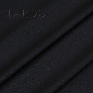 Костюмная шерсть с шёлком тёмно-синяя