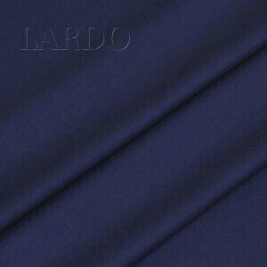 Костюмная шерсть с шёлком ярко-синяя