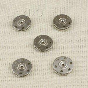 Кнопка металл ∅ 2,0 см, никель