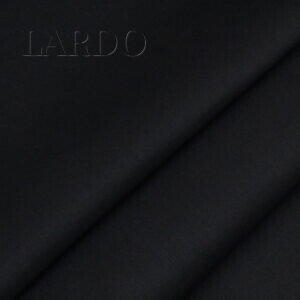 Костюмный шёлк чёрный