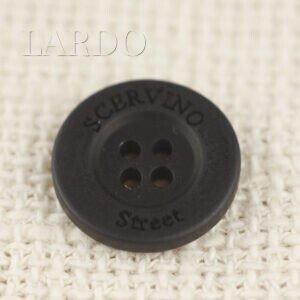 Пуговица, пластик SCERVINO STREET ∅ 1.7 см , чёрная