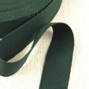 Репсовая лента зелёная шир. 4,0 см