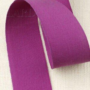 Репсовая лента цвета фуксии шир. 4,8 см