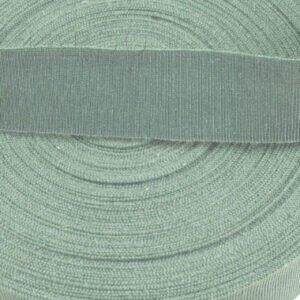 Репсовая лента серо-ментоловая шир. 1,6 см