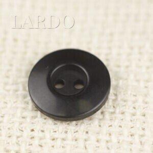 Пуговица пластик ∅ 2,3 см чёрная