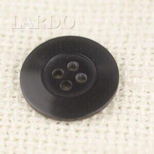 Пуговица пластик ∅ 2,0 см тёмно-серая перламутр