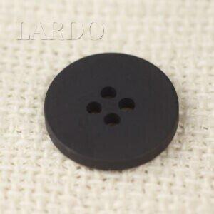 Пуговица пластик ∅ 1,9 см чёрная