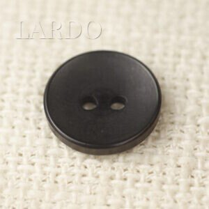 Пуговица пластик  ∅ 1,8 см чёрная