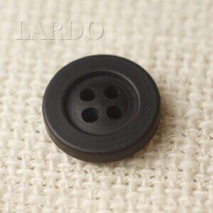 Пуговица пластик ∅ 1,7 см чёрная